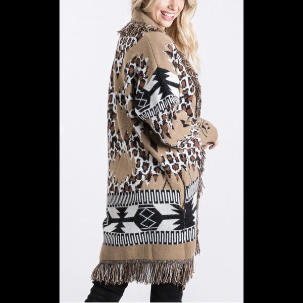 The Beth Wild Life Cardigan