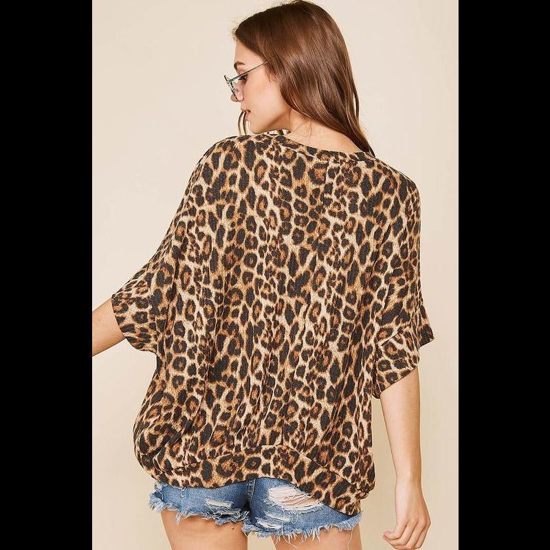 Make Me Wild Thermal Knit Top