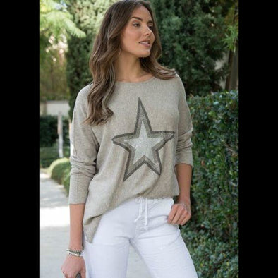 You're a Star Long Sleeve Lightweight Sweater