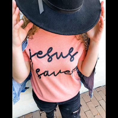 Jesus Saves Graphic Tee