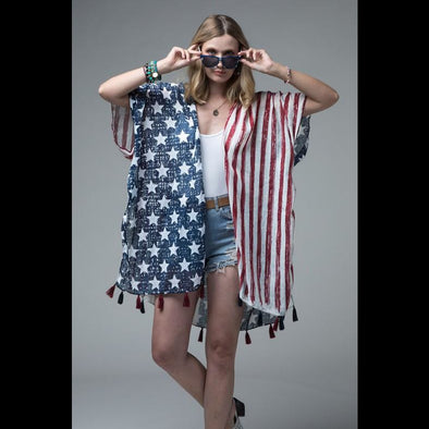 America The Beautiful Kimono