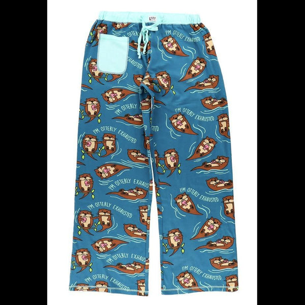 Otterly Exhausted PJ Pants from LazyOne