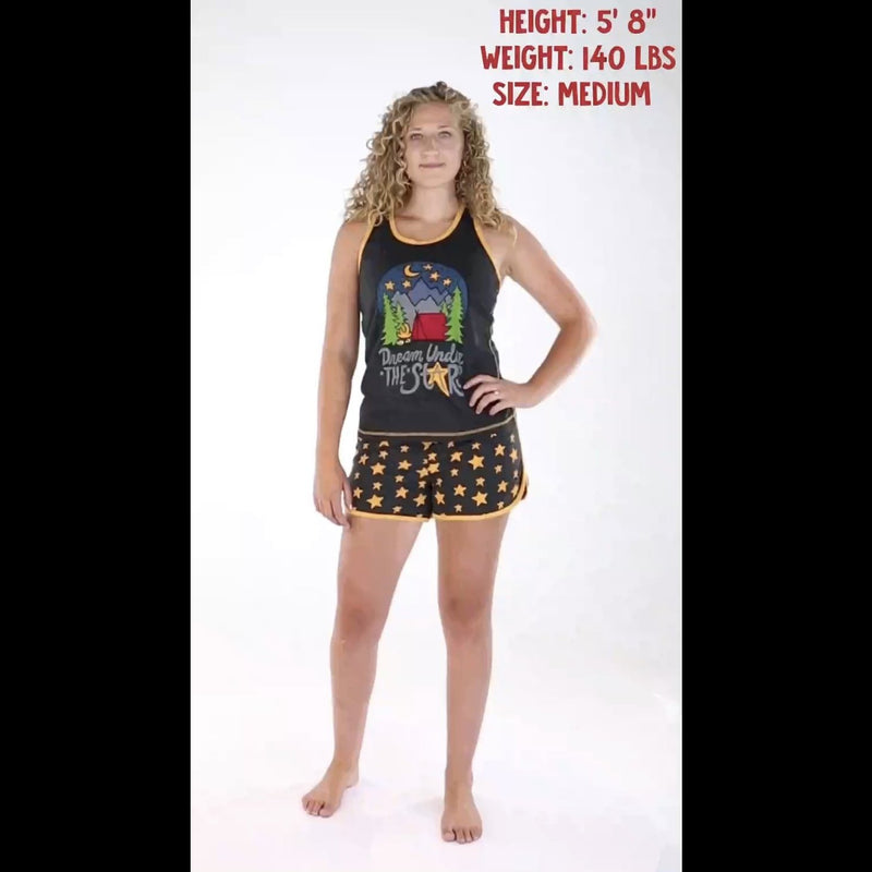 Dream Under The Stars Women's Boxer/Tank Pajama Set