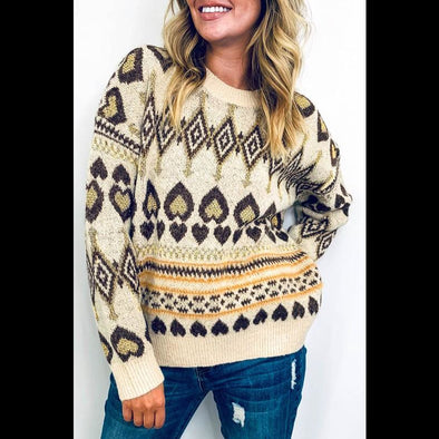 Queen of Hearts Cozy Sweater
