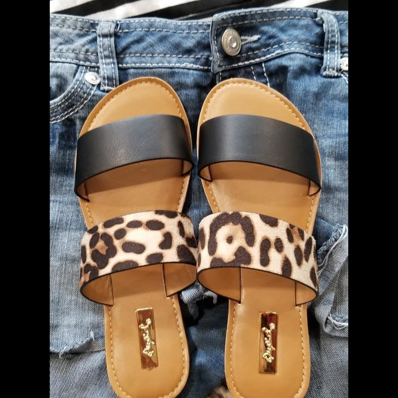 On the Prowl Leopard Sandals