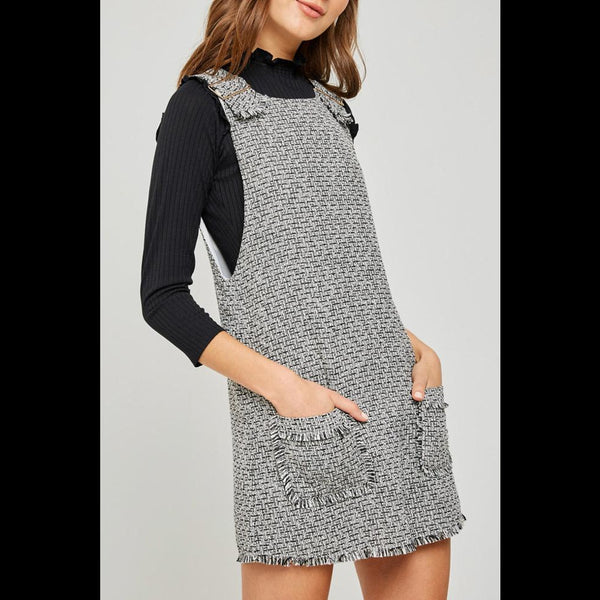 School Girl Crush Tweed Jumper