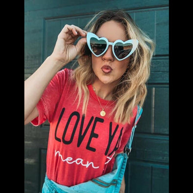 Love Ya Mean It Graphic Tee