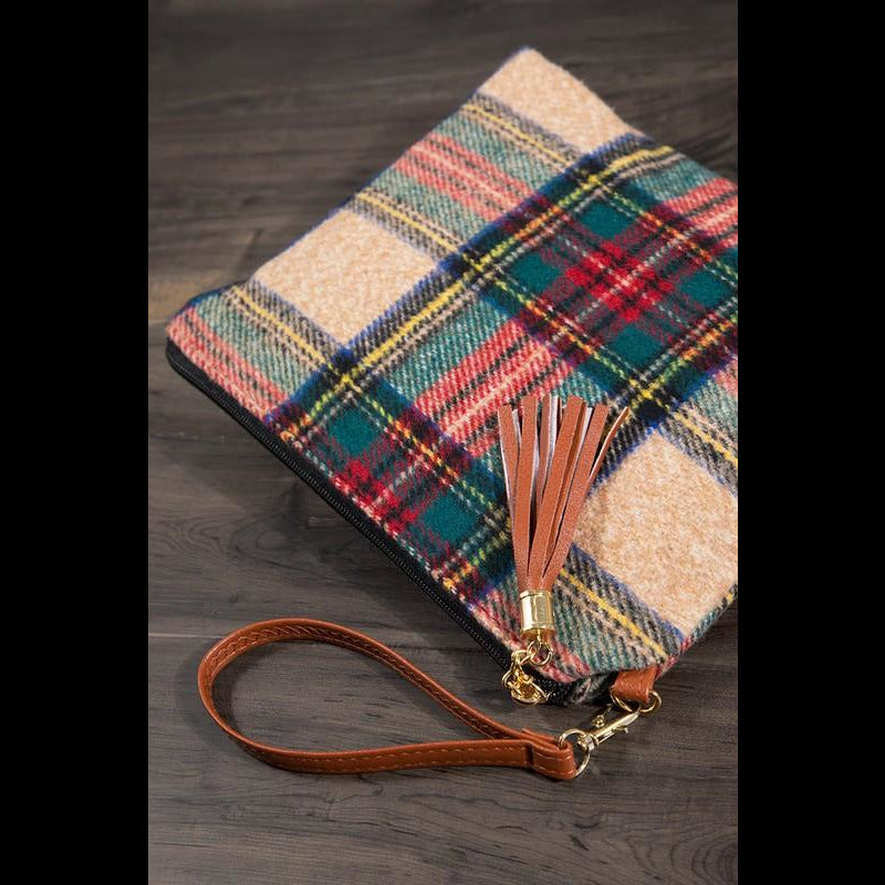 Chasing Snowflakes Wristlet/Cross Body Bag
