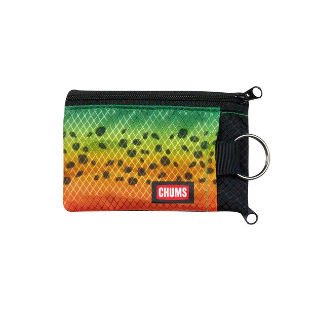 #18403921 Rainbow Fish Surfshorts Wallet, front side