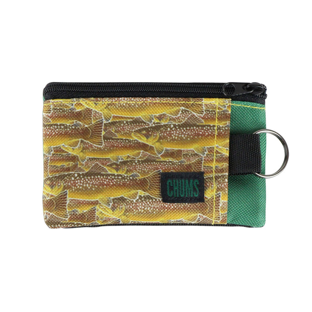 #18403951 Many Fish Surfshorts Wallet, front side