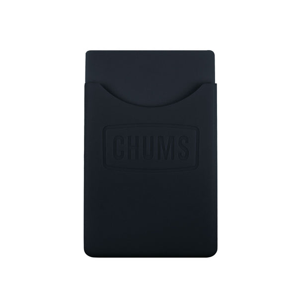 back of phone wallet keeper black