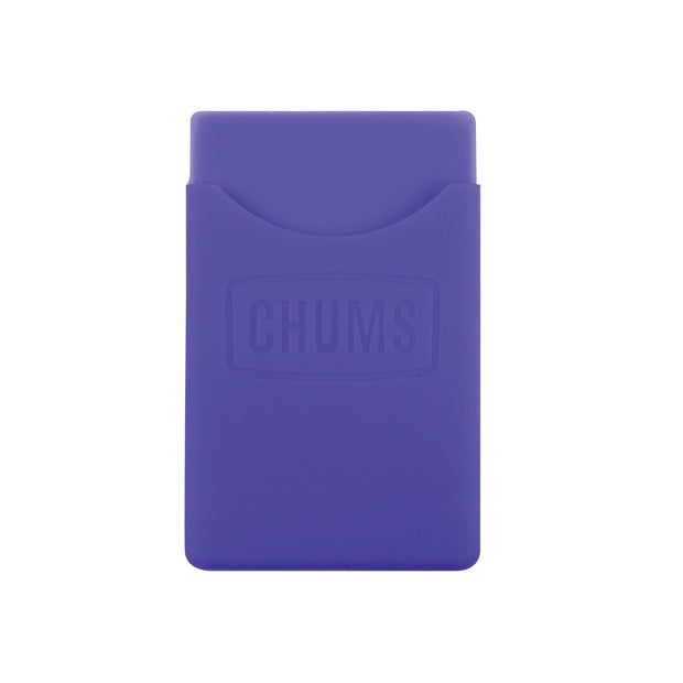 back of phone wallet keeper purple