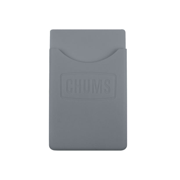 back of phone wallet keeper grey