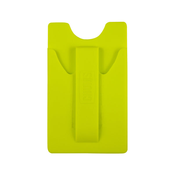 back of phone wallet rangler neon green