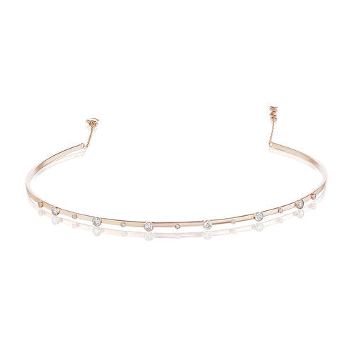 Bezel Stand Out Choker