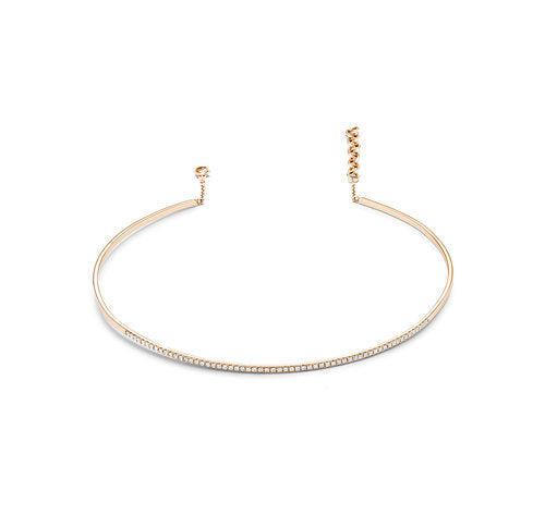 Diamond Bar Choker