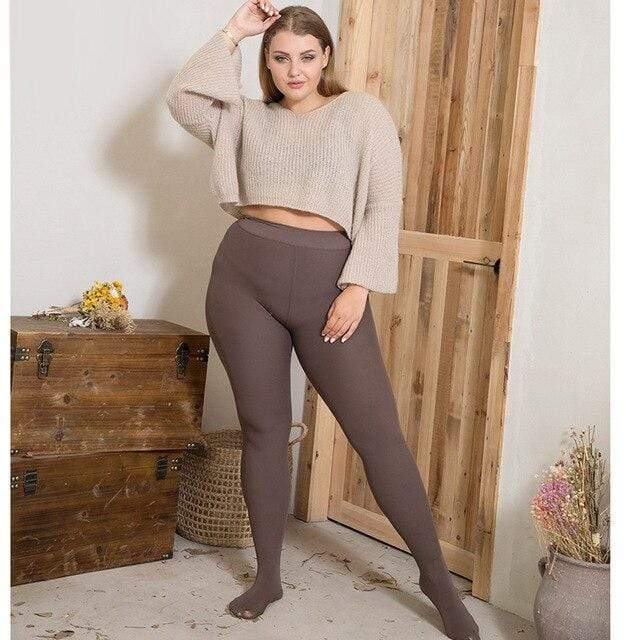 1200 Denier No-Rip Plus Size Tights (Pack of 7) - GOOPSS