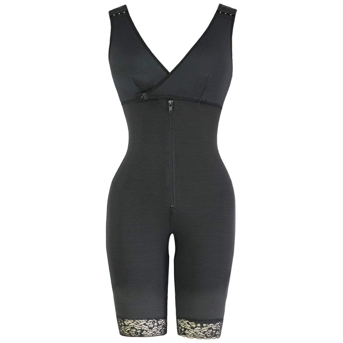 GOOPSS Shapewear Black / M Mid-Thigh Compression Shapewear