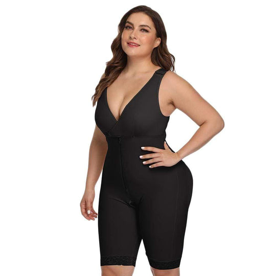 GOOPSS Shapewear Knee-Length Compression Shapewear