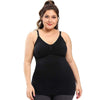 GOOPSS Tanks Black / 3XL Maternity bra underwear with high elastic nursing vest