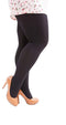 Extra Large 120D Velvet Tights
