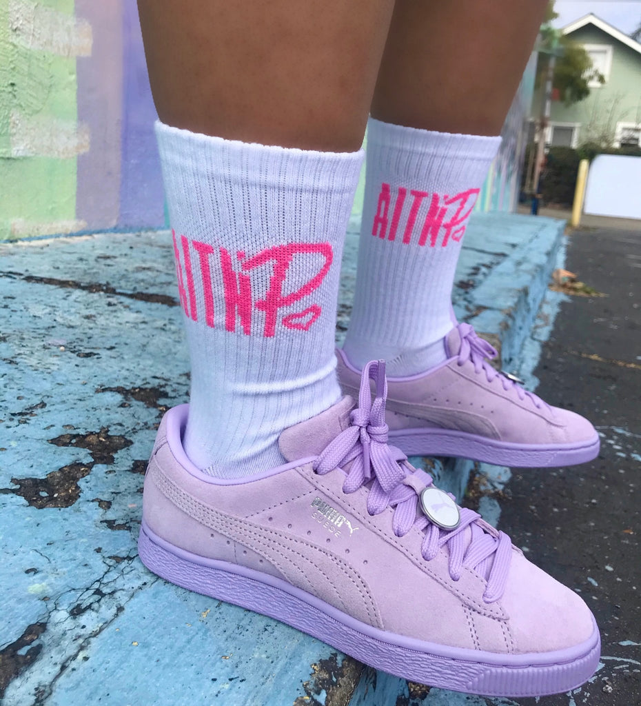 AITNP Essentials Socks - Ambition Is The New Pink