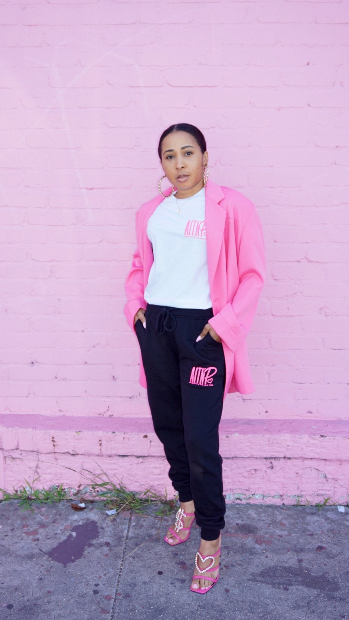 AITNP Joggers Essentials - Ambition Is The New Pink