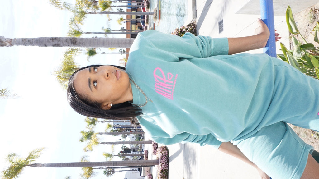 AITNP Springtime Crewneck Essentials - Ambition Is The New Pink