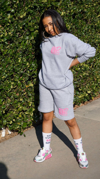 AITNP Sweat Short Essentials - Ambition Is The New Pink