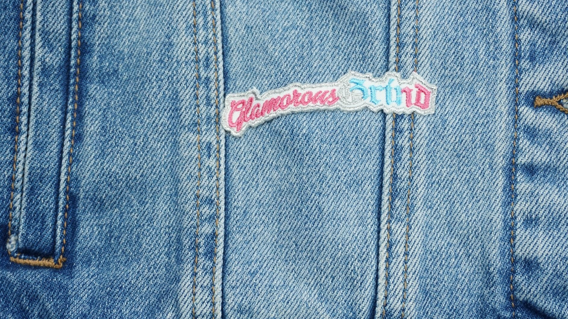 Glamorous Grind Patch - Ambition Is The New Pink