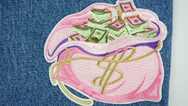 Money Bag Patch - Ambition Is The New Pink