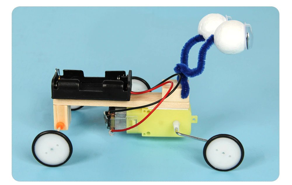 DIY Electric Animal, STEM Science, Technology, Engineering and Mathematics Toy, Solo and Group Learning