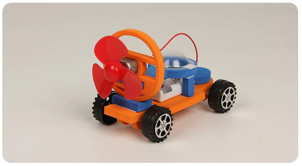 STEM DIT EVA car, Educational Toy, Science, Technology, Engineering and Mathematics Learning Aid