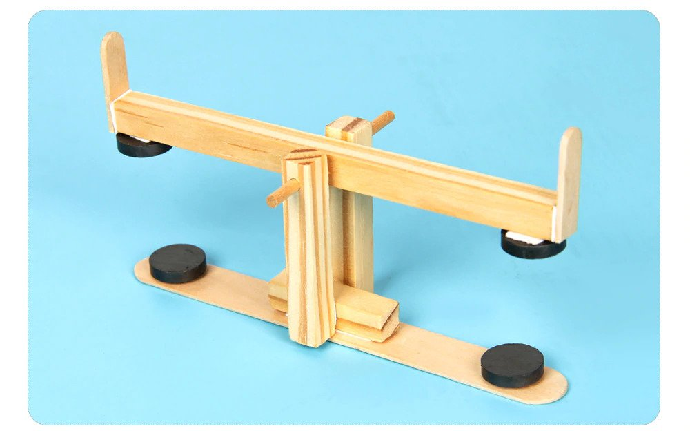 DIY Seesaw, STEM Science, Technology, Engineering and Mathematics Toy, Educational Project