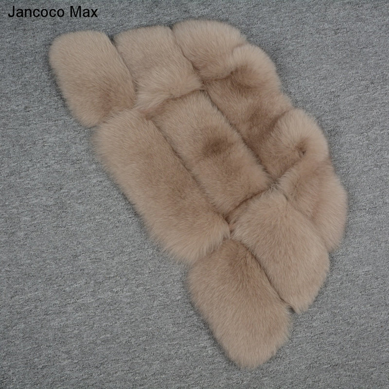 Jancoco Max 2018 Women's Real Fox Fur Vest - Order It All