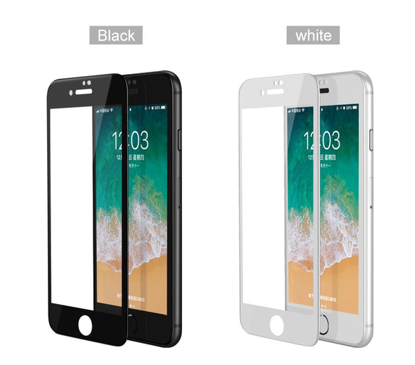 IUVS 4D Full Cover Tempered Glass For iPhone 6 6S 7 8 X Plus