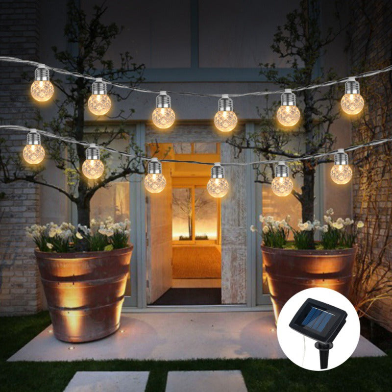 Romantic Outdoor Solar Powered 30 LED String Light Garden Patio Yard Landscape Lamp Party - Order It All