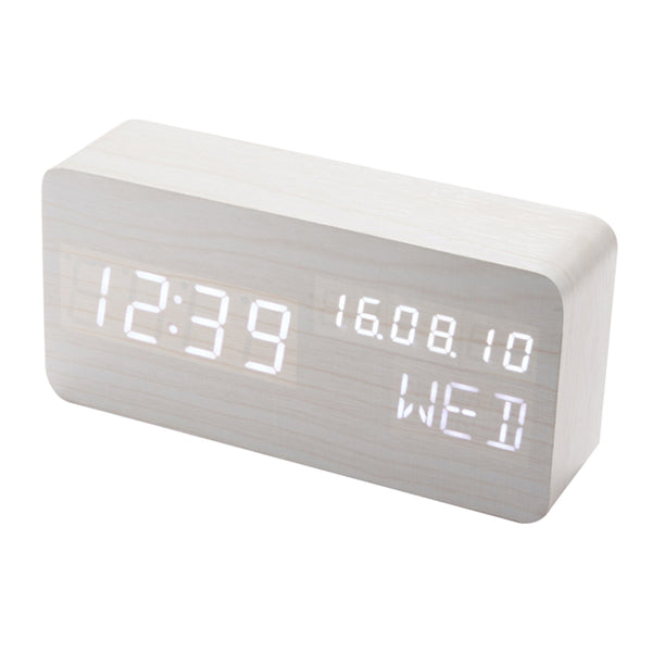 HOT Wooden Led Alarm Clock - Order It All