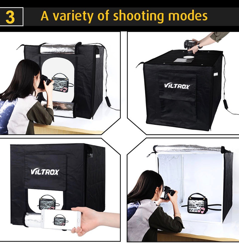Viltrox Portable Photo Studio 60 x 60 cm - Order It All