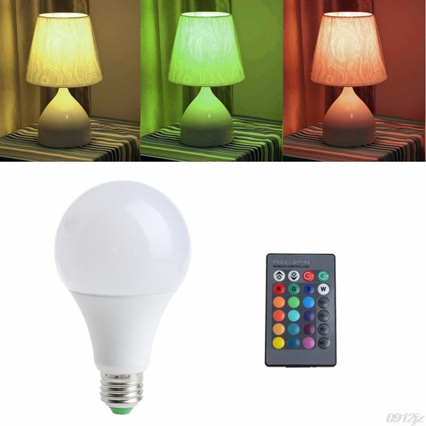 Remote Control Multi Color Changing Light Bulb - Order It All
