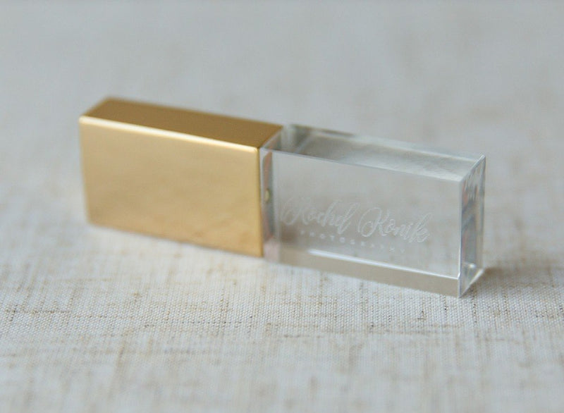FREE LOGO!!! New Elegant Crystal usb 2.0 Flash Drive - Order It All