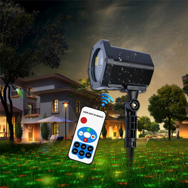 Moving Holiday Projector with Remote Control