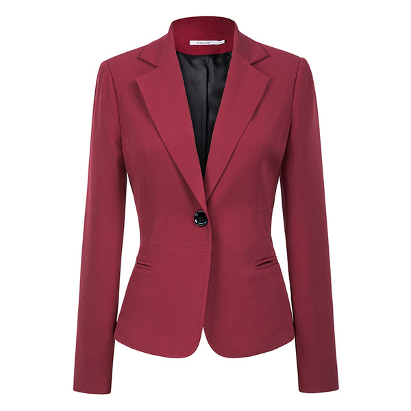 Women's Blazers (2018 New Autumn Fashion) Single Button
