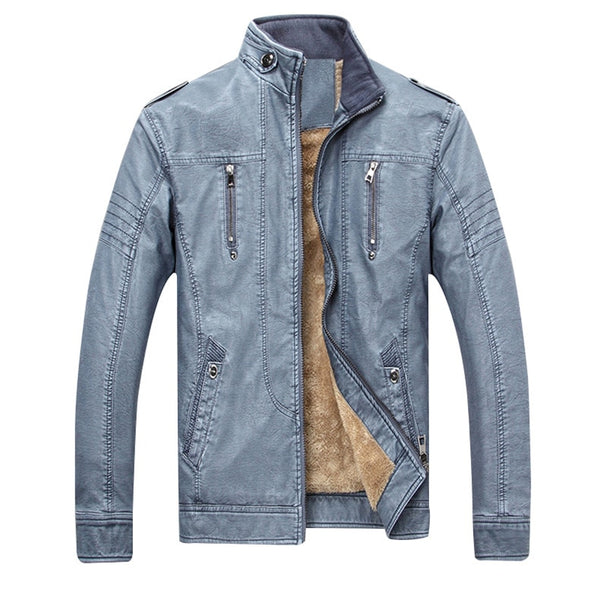 Men's Autumn & Winter Quality Leather Jacket