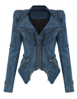 Winter Denim Jacket (Vintage Bomber) - Order It All