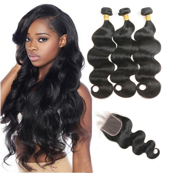 Lace Closures (4x4) - Mari K Collection - Virgin Human Hair