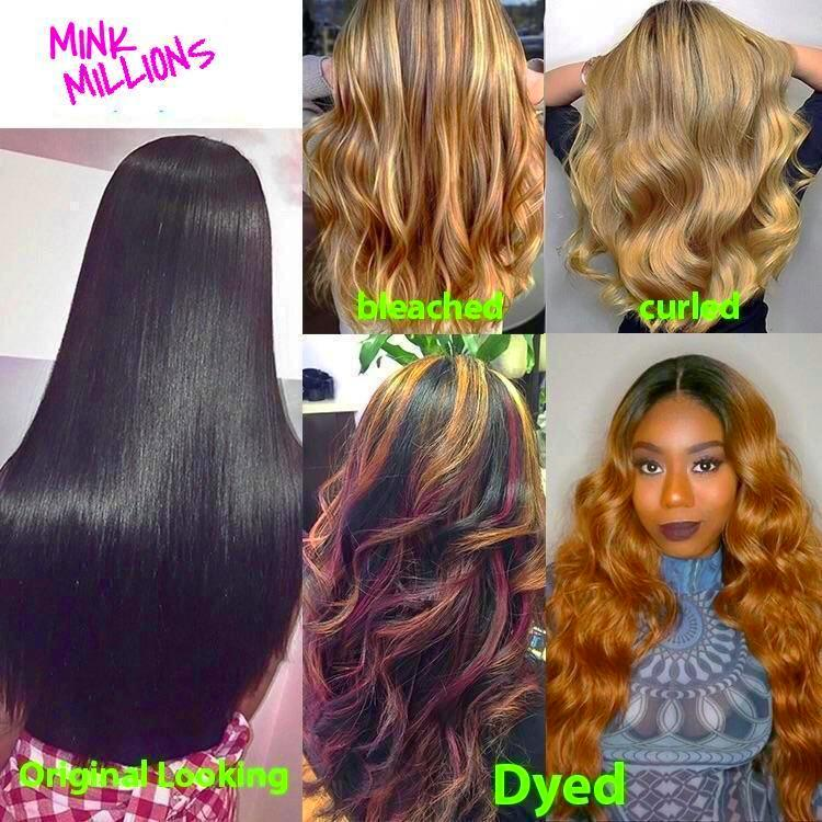 Mink🥇Millions Collection - Raw Mink Hair -  100% Unprocessed Bundles 👑