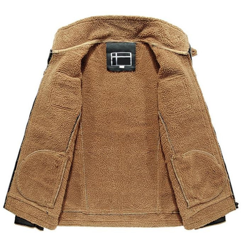 Hot New Leather/Suede Men's High Quality Coat - Order It All