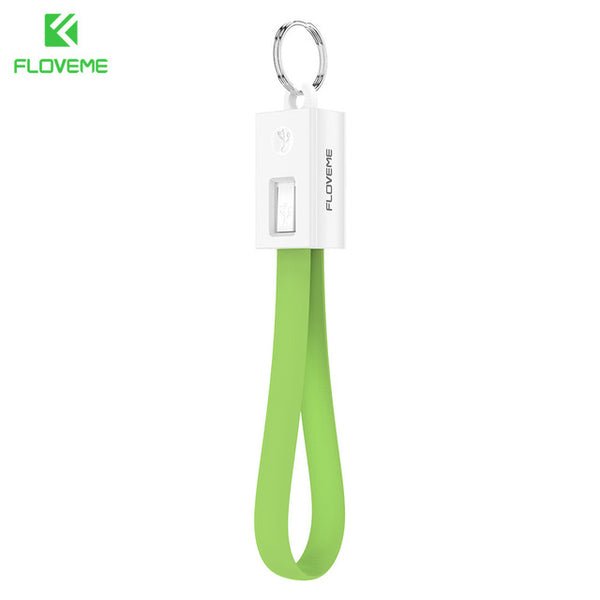 Portable/Keychain Design Mini USB Charger Cable for Apple iPhone - Order It All