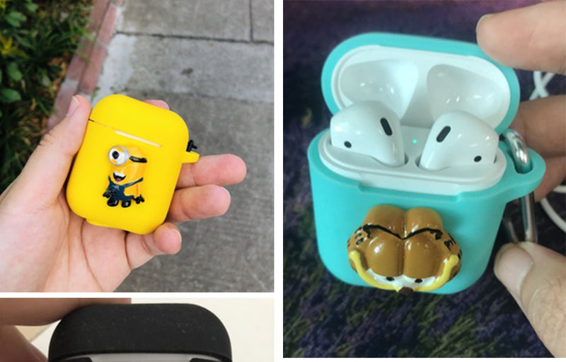"""Such A Character"" Cartoon Animal Case For Apple Airpods"